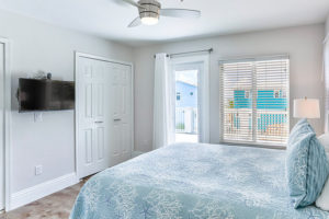 Bedroom 2 Sea Pearl Family Vacation Rentals on the Beach